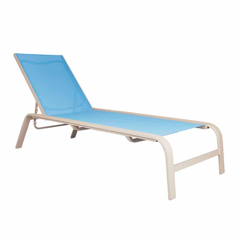 SEASIDE STACKABLE CHAISE
