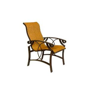 CINNAMON BAY HIGH BACK DINING CHAIR