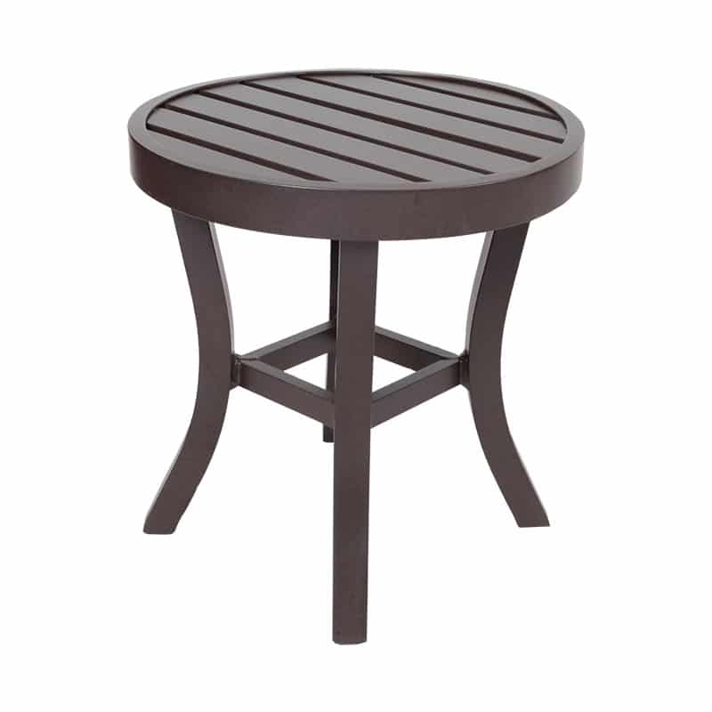 CRAFTSMAN ROUND END TABLE