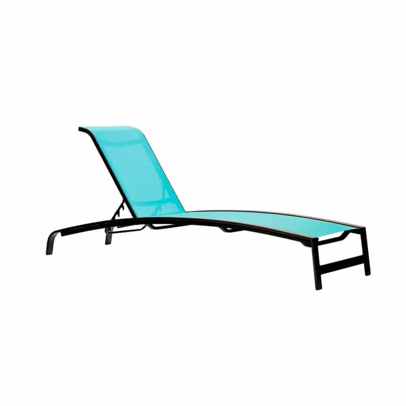 CAPSTONE STACKABLE CHAISE