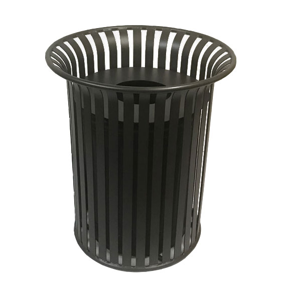 COMMERCIAL OUTDOOR TRASH RECEPTABLE