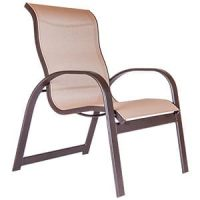 BAYSIDE HIGH BACK STACKABLE DINING CHAIR