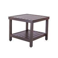 CRAFTSMAN SQUARE END TABLE